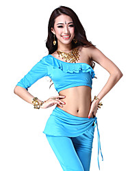 Dancewear Viscose Belly Dance Top For Ladies More Colors