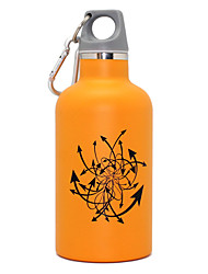 350ML Sports Vacuum Bottle/Vacuum Flask (Orange)