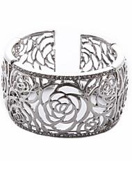 la mode pour dames bracelet gravé retour à structure ouverte
