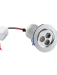 Luci da soffitto 3 LED ad alta intesità 9 W 900 LM 3000K K Bianco caldo AC 85-265 V