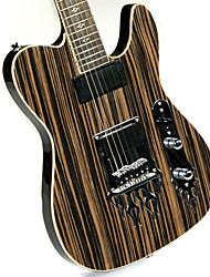 Derulo - guitarra telecaster profissional elétrica com saco de correia / / picks / cabo / barra whammy