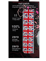 Full Cover Flag Of UK Style Nail Stickers