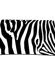 zebra print gaming mouse pad ottico (9 x 7 inches)