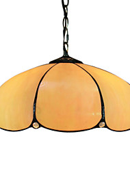 Tiffany 2 - Light Pendent Lights in Orange