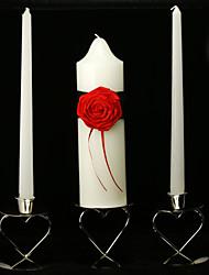 Midnight Rose bougies unité de mariage (ne pas inclure bougeoir)
