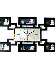 """24"""" Modern Style Picture Frame Wall Clock"""