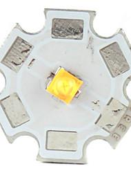 diy cree 5w 356lm 2800-3200K luce bianca calda ha portato emettitore con esagono base in alluminio (3.2-3.6v)