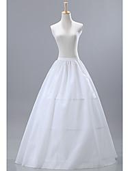 Nylon Médio Plenitude Deslizamento Mulheres Floor Duração Petticoats casamento