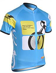 mountainpeak-Kurzarm Fahrradtrikot Tops (pink, blau)
