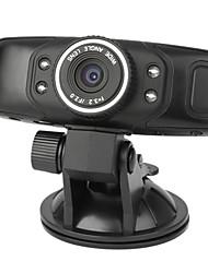 Dual Lens 720P 1,4 pollici auto DVR H.264 con visione notturna, rilevamento del movimento