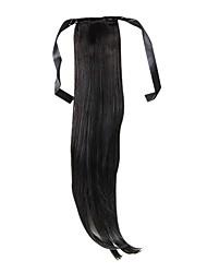 22 Zoll 1 Stück kastanienbraun haargummis Haarverlängerungen