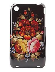 Blumenmuster Hartschalenetui für iPhone 3G und 3GS