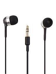 basse qualité haute couture compact écouteurs intra-auriculaires avec réglage du volume