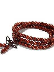 natural indiano Bois de Rose 108 contas pulseiras oração cinco milímetros
