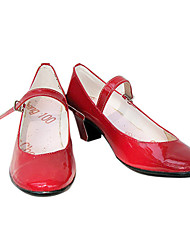 ver en vivo. rei hino / sailor mars zapatos de cosplay