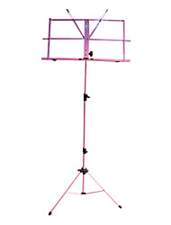 NG - (MS-PK) Pink Folding Portable Music Stand with Bag
