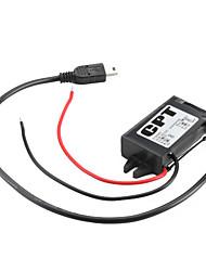 DC 12 V à DC 5V Mini USB Car Charger Step-Down Module pour téléphone portable