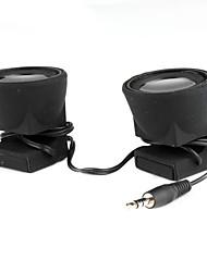 portable haut-parleur stéréo 3,5 mm double pour iphone ipad comprimés téléphones cellulaires