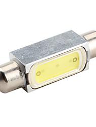 41 milímetros 1.5W 100-120lm 7000-8000K do bulbo festão White Light para Lâmpadas de carro (DC 12V)