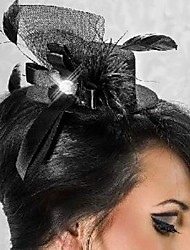 Women's Tulle Headpiece-Wedding / Special Occasion Fascinators