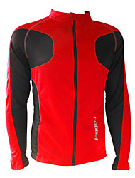 JAGGAD Cycling Tops / Jacket Men's Bike Front Zipper / Windproof Long Sleeve Polyester Yellow / White / Red / Blue S / M / L / XL / XXL