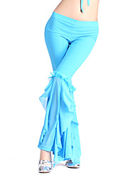 Dancewear Crystal Cotton Belly Dance Bottom For Ladies More Colors