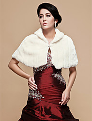 Wedding / Party/Evening Feather/Fur Shawls Fur Wraps