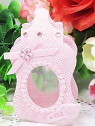 favores en forma de botella encantadora con bolsas de diamantes de imitación - conjunto de 12 (más colores)