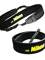 Neopren Kamera Umhängeband für Nikon D5000 D5100 D90 D80 D70 D3100 D700 D7000