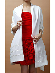 Wedding  Wraps / Shawls Shawls Sleeveless Chiffon As Picture Shown Wedding / Party/Evening