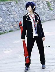 Вдохновлен Синий Экзорцист Rin Okumura Аниме Косплэй костюмы Косплей Костюмы Школьная форма Однотонный Длинный рукавПальто Рубашка Брюки