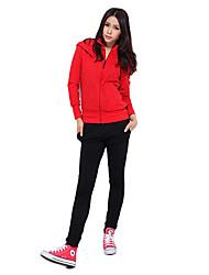 92% algodón de la Mujer SleevesStripe absorbencia no estáticas Suits (jersey + pants)