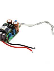 3W LED driver à courant constant Source d'alimentation secteur (100-240V)