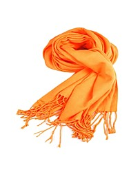 Shawls Scarves Imitation Cashmere Orange Party/Evening