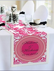 Table Centerpieces Personalized Reception Desk Table Runner - Peach  Table Deocrations