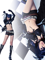 Black Rock Shooter costume noir cosplay costume