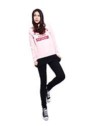 Women' 92% Cotton Long Sleeves Sweat Absorbency  Suits (Sweater+Pants)
