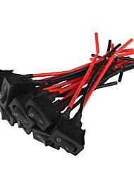 Interrupteurs à bascule de voiture (10-Pack / 12V)