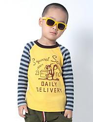Mode Streifen gespleißt t-shirt