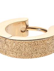 Golden Sand Stainless Steel Earrings