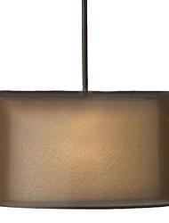 40W E14 3-свет подвеска свет с Ткань Shade