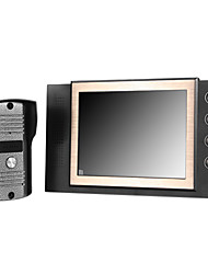 "Accueil 8 ""LCD Moniteur de porte sonnette Camera Phone Entrée Interphone"