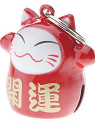 Gatos / Cães Marcadores Boca de Sino / Design de Desenho-Animado Vermelho Alumínio