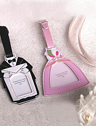 Bride & Groom Design Luggage Tag - Set of 2