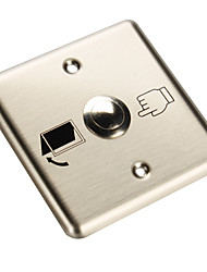 Stainless Steel Exit Button B
