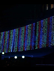6mx3m multicolore String Light LED con 800 LED
