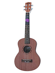 Nuts - (U-100T) Plywood Sapelle Tenor Ukulele with Bag