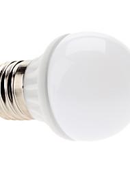 E27 3W 240-270LM Blue Light LED Ball Bulb (85-265V)