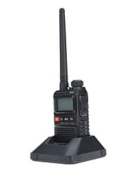UHF 400-470MHz VHF 136-174MHz Walkie Talkie mit Not-Alarm (VOX / fm Radio Built-in)