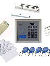 Stand Alone accesso Kit controller (Magnetic blocco 280kg, 10 EM-ID Card, Power Supply)